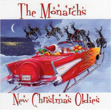 The Monarchs New Christmas Oldies CD